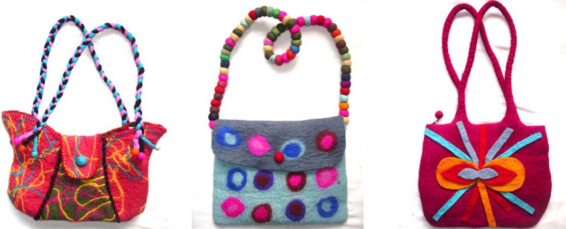 Woolen Felt Bags