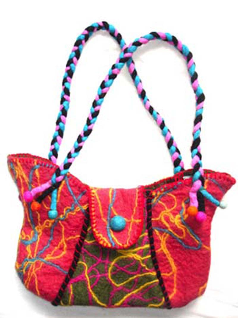 Felt Woolen Bags