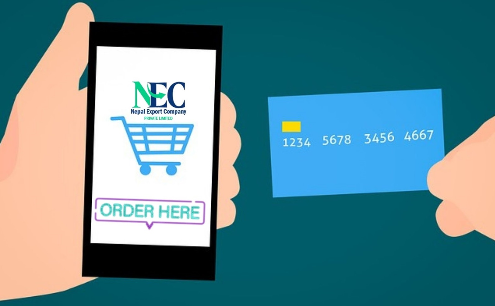 Order online with NEC